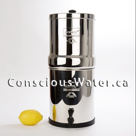 the powerful big berkey water filter big berkey canada conscious water berkey water filter. Black Bedroom Furniture Sets. Home Design Ideas