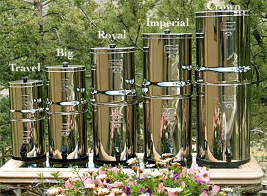berkey water systems, berkey water filtration, travel berkey, big berkey, royal berkey, berkey light, berkey lite, imperial berkey, crown berkey, compare berkey purifiers, berkey water treatment systems