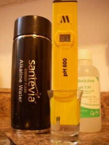 Portable Alkaline Water System The Santevia Energy Flask