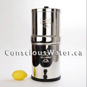 berkey shower filters conscious water berkey water filter canada. Black Bedroom Furniture Sets. Home Design Ideas