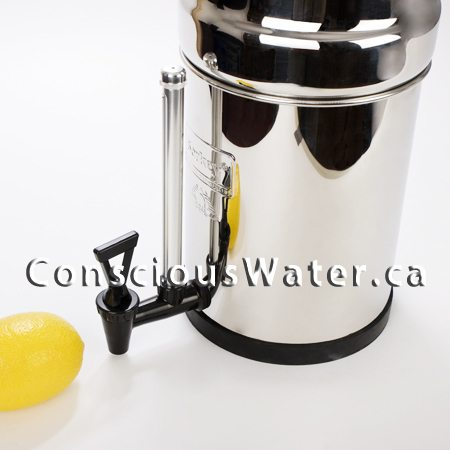 berkey sight glass spigots conscious water berkey water filter canada. Black Bedroom Furniture Sets. Home Design Ideas