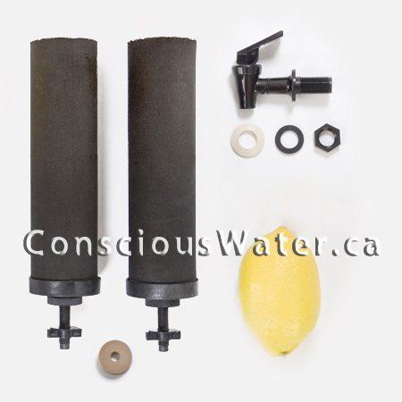 travel berkey water purifier and options conscious water berkey water fil. Black Bedroom Furniture Sets. Home Design Ideas