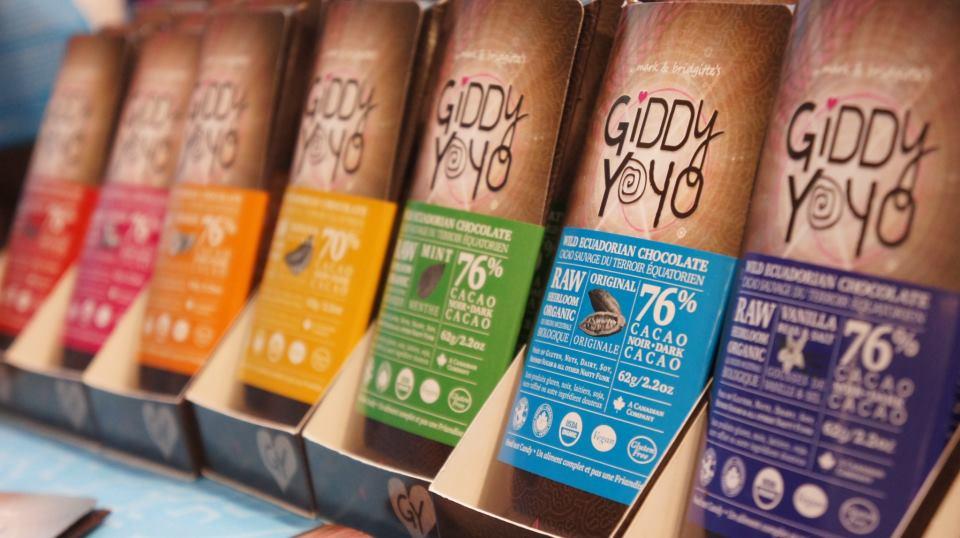 giddy yoyo chocolate, giddyyoyo, giddy yoyo chocolate bars