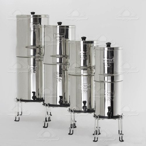 berkey water filter stand stainless steel conscious water berkey water filter canada. Black Bedroom Furniture Sets. Home Design Ideas