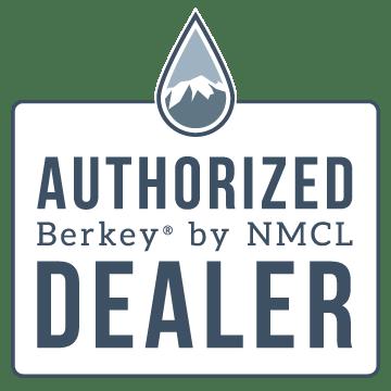 Authorized Berkey dealer trust badge
