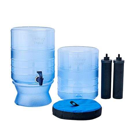 Berkey Light water filter system for Canada plus two Berkey elements