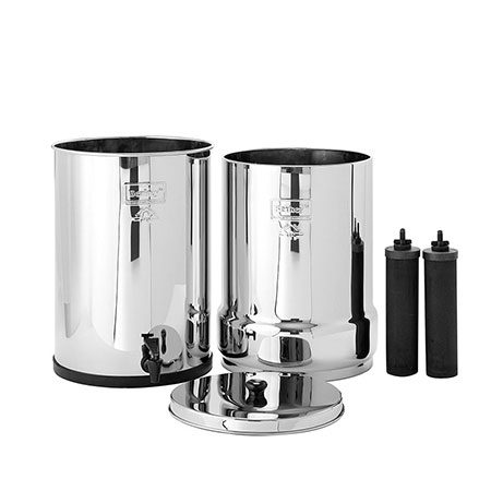 Crown Berkey system plus two elements for water filtration