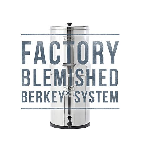 Imperial Berkey Scratch and Dent Sale for Water Filtration