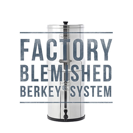 Imperial Berkey Scratch and Dent Sale for Water Filtration in Canada