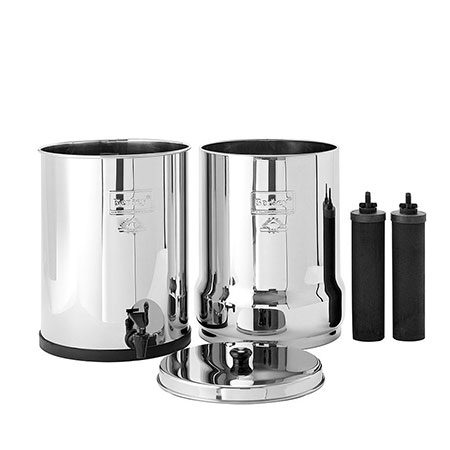 Imperial Berkey system plus two elements for water filtration