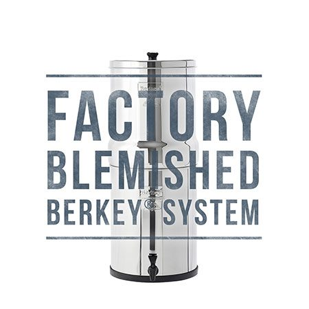Royal Berkey Scratch and Dent Sale for Water Filtration